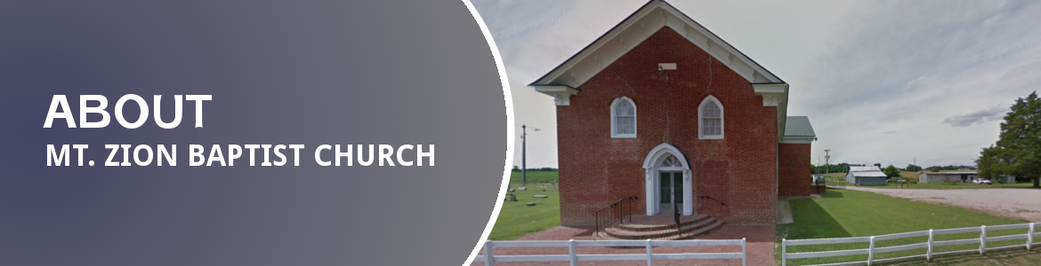 About Mt. Zion Baptist Church