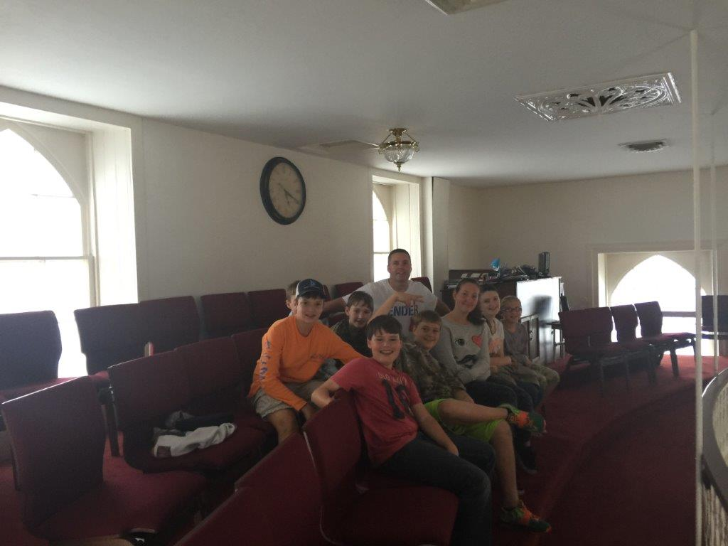 Youth Ministry at Mt. Zion Baptist Church in Tappahannock, VA.