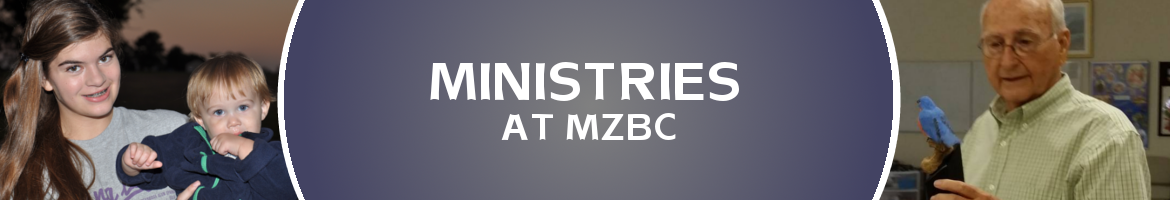 Ministries at Mt. Zion Baptist Church in Tappahannock, VA.