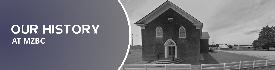 Our History at Mt. Zion Baptist Church